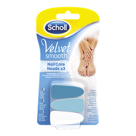 Velvet Smooth Electronic Nail Care System Scholl Singapore